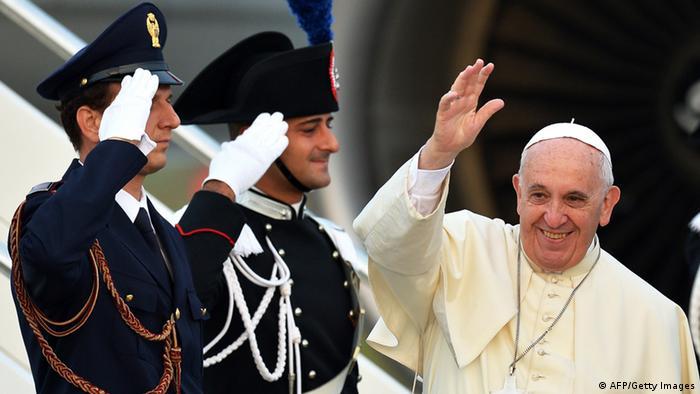 Papst Franziskus in Albanien