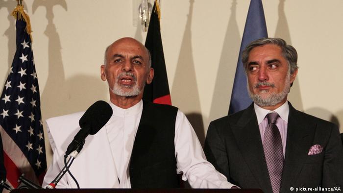 Ашраф Гани Ахмадзай и Абдулла Абдулла, фото из архива