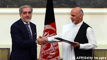 Einigung über Einheitsregierung in Afghanistan unterzeichnet 21.9.2014