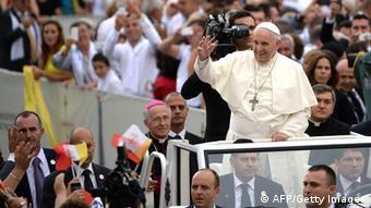 Papst Franziskus in Albanien 21.9.2014