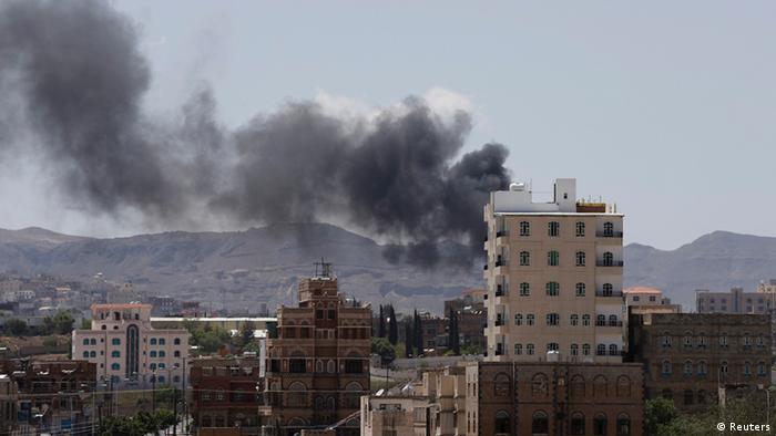 Jemen Gefechte zwischen Schiiten und Sunniten