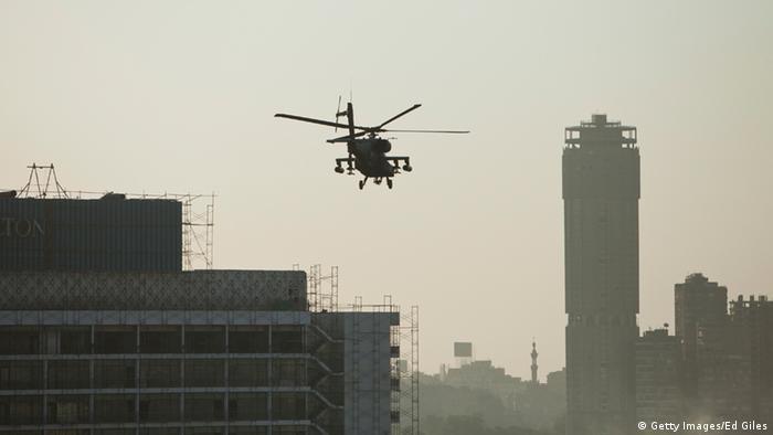 Ägyptischer Militärhubschrauber