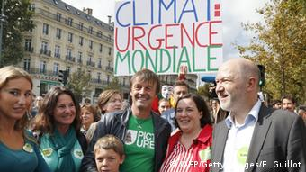Klimawandel Protest in Paris