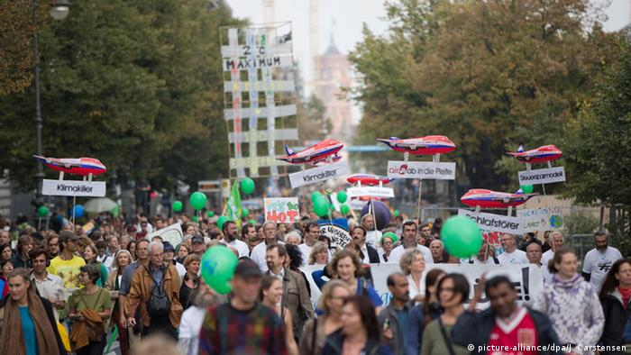 Klimawandel Protest in Berlin
