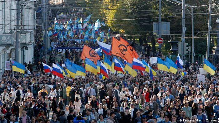 Friedensmarsch Moskau