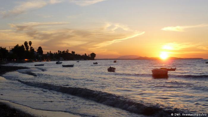 Sonnenuntergang in Monodendri
