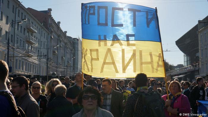 Marsch des Friedens ins Moskau
