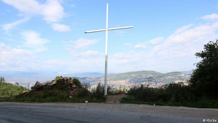 Veliki križ iznad Sarajeva