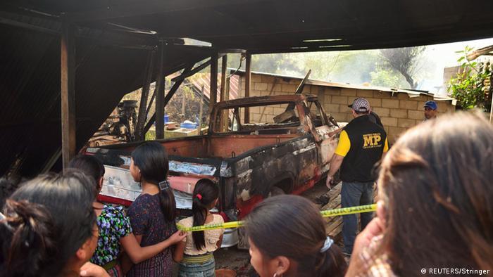 Guatemala reconoce 11 muertos por conflicto minero