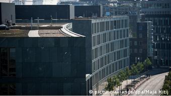 To γερμανικό υπουργείο Παιδείας και Έρευνας στο Βερολίνο