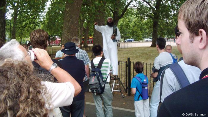 Salafisten in München (DW/S. Soliman)