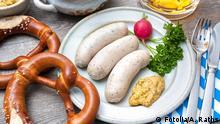 Oktoberfest Essen Wurst