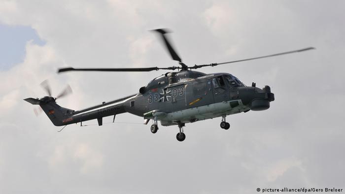 Sea Lynx Hubschrauber der Bundeswehr Archivbild