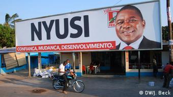 Bildergalerie Wahlkampf 2014 Mosambik (DW/J. Beck)