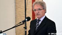 Prof. Dr. h.c. Horst Teltschik ehemaliger Leiter der Münchener Sicherheitskonferenz, Politikberater, Vorstandsmitglied der BMW AG, ehemals stv. Leiter des Bundeskanzleramtes. Ort: Generalkonsulat der Russischen Föderation in Bonn Fotograf: Jun Yan