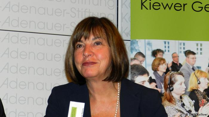 Лідерка фракції Зелених у Європарламенті Ребекка Гармс