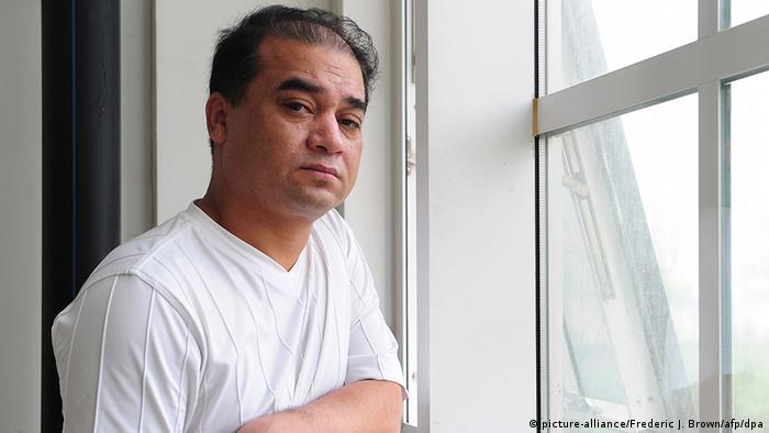 Uigure Regimekritiker lebenslange Haft China Ilham Tohti (picture-alliance/Frederic J. Brown/afp/dpa)