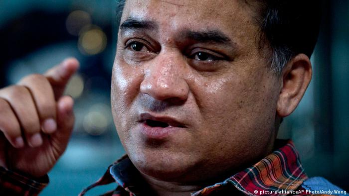 Uigure Regimekritiker lebenslange Haft China Ilham Tohti (picture-allianceAP Photo/Andy Wong)