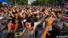 Studentenproteste in Hong Kong
