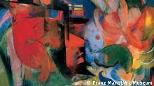 Bildergalerie Ausstellung August Macke und Franz Marc Eine Künstlerfreundschaft Abstrakte Formen II