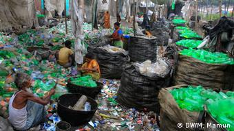Plastik Recycling in Bangladesch