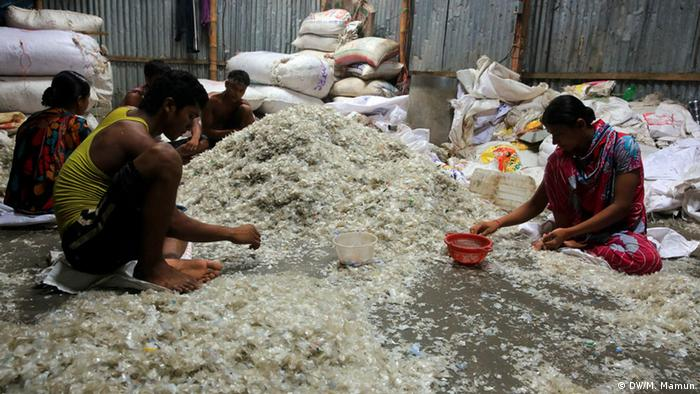 Plastic Recycling in Bangladesch