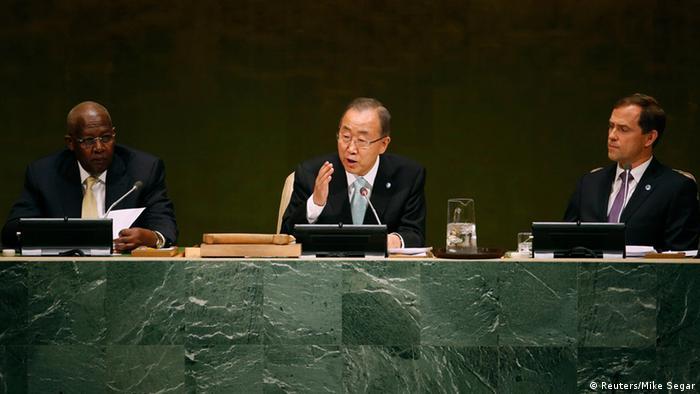 Ban Ki-moon at the climate conference
