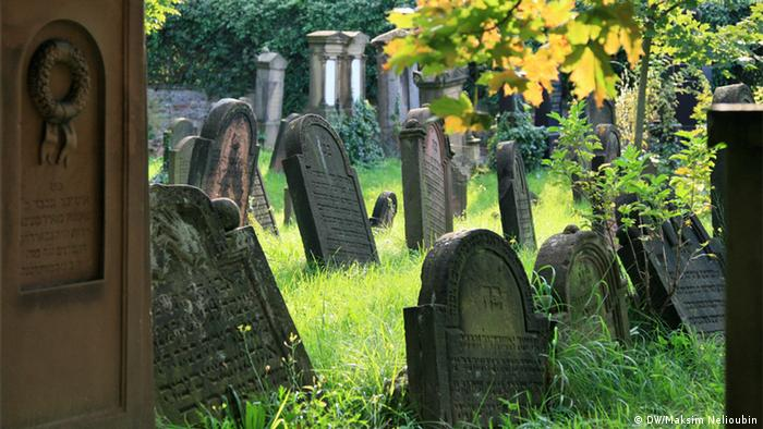 The Holy Sands Jewish cemetery in Worms (DW/Maksim Nelioubin)