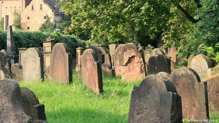 Старая часть кладбища