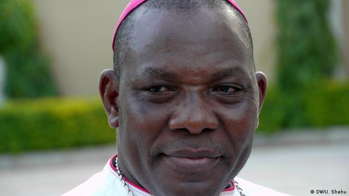 Oliver Doeme Dashe Bishop from Maiduguri Nigeria (DW/U. Shehu)