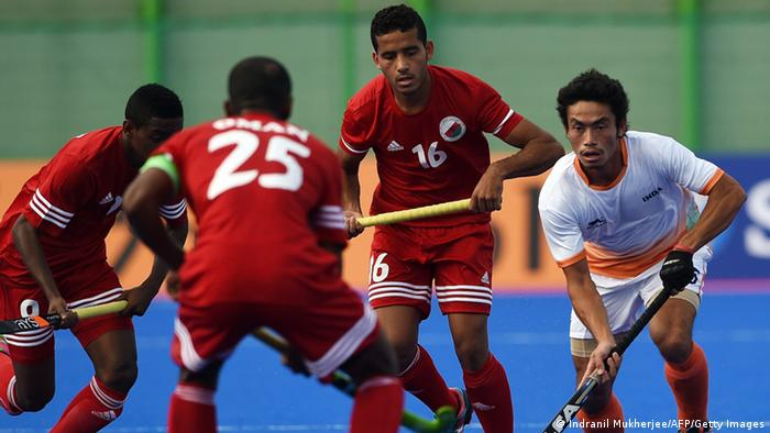 2014 Asian Games Hockey Indien vs. Oman