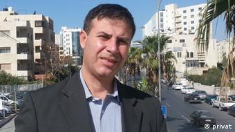 Usama Antar, Politikwissenschaftler in Gaza-Stadt (Foto: privat)