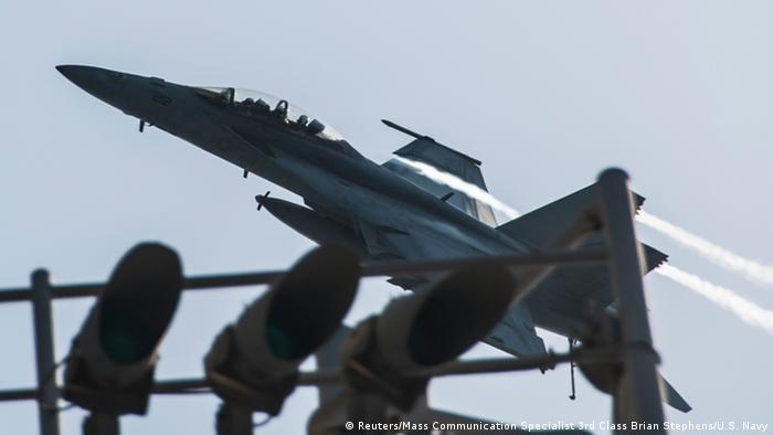 Airstrikes target