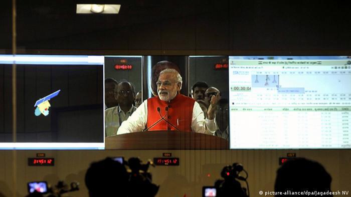 Bildergalerie Indien Mars Orbiter Mangalyaan