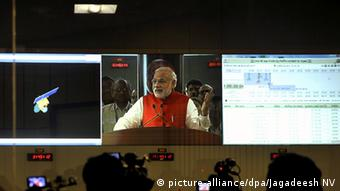 Indian PM Narendra Modi last year promised to send an Indian national into space by 2022 (picture-alliance/dpa/Jagadeesh NV)