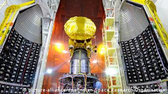 Indien Mars Orbiter Mangalyaan (Foto: picture-alliance/dpa/Indian Space Research Organisation)