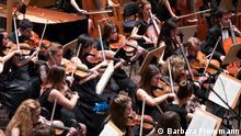 The Bilkent Youth Symphony Orchestra at the Beethovenfest 2014, Copyright: Barbara Frommann