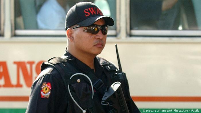 Philippinen Spezialpolizei Archiv 2005