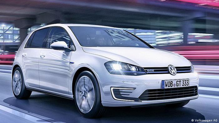 Volkswagen GTE 2014