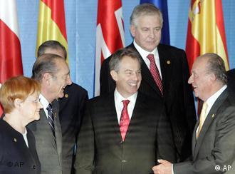 Cumbre Euromediterránea: europeos entre sí.