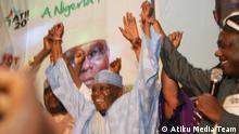 Nigeria Präsidentschaftswahl 2015 Atiku Abubakar