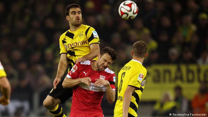Fußball 1. Bundesliga 5. Spieltag Borussia Dortmund VfB Stuttgart