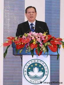 Liao Hui früher Hong Kong and Macau Affairs Office