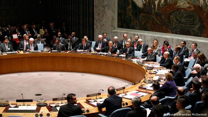 Ухвалити рішення надіслати миротворчий контингент має Рада безпеки ООН, постійні члени якої, серед них Росія та Китай, мають право вето