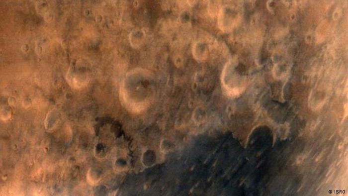 Mangalyaan images from Mars