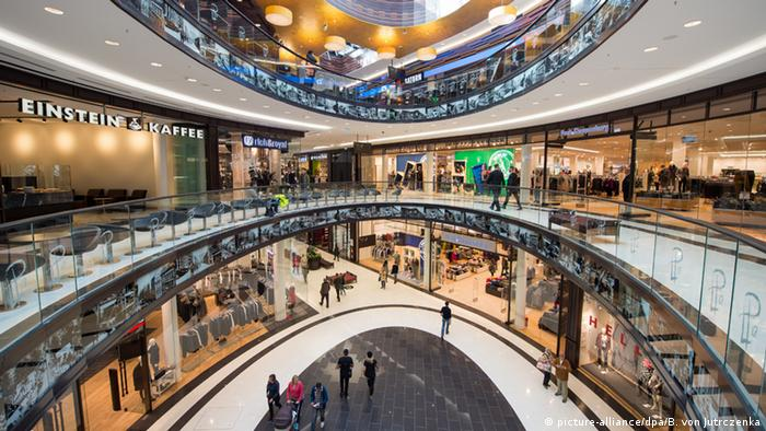 Mall of Berlin (Bildergalerie) (picture-alliance/dpa/B. von Jutrczenka)