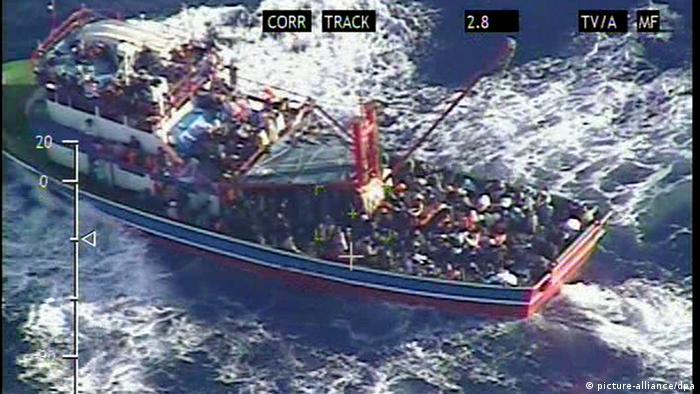 Flüchtlingsboot Zypern