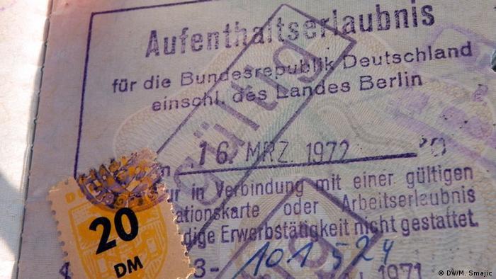 Jugoslawische Gastarbeiter in Deutschland Muhamed Gutic