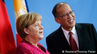 Angela Merkel und Benigno Aquino in Berlin am 19.09.2014 (Foto: REUTERS)