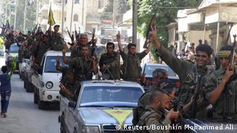Kurdish People's Protection Units (YPG) in Syrien ARCHIV 14.08.2014